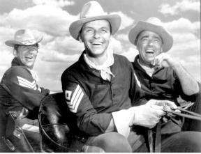 Peter Lawford, right, also starred in