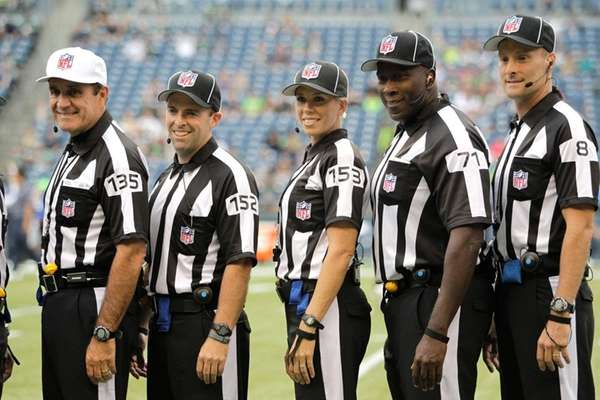 National Football League announces it will hire up to 24 full-time officials