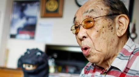 Haruo Nakajima, the first actor to play the