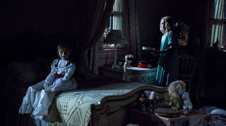 Janice, played by Talitha Bateman, in a scene