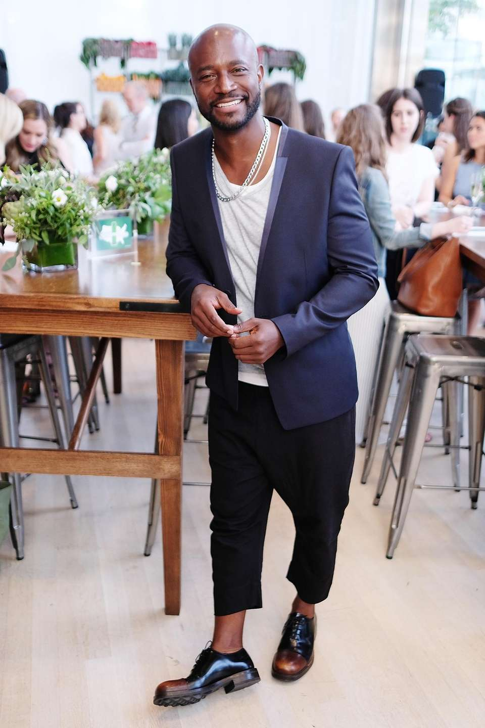 Taye Diggs attends the 2017 #DrinkGoodDoGood Campaign Launch