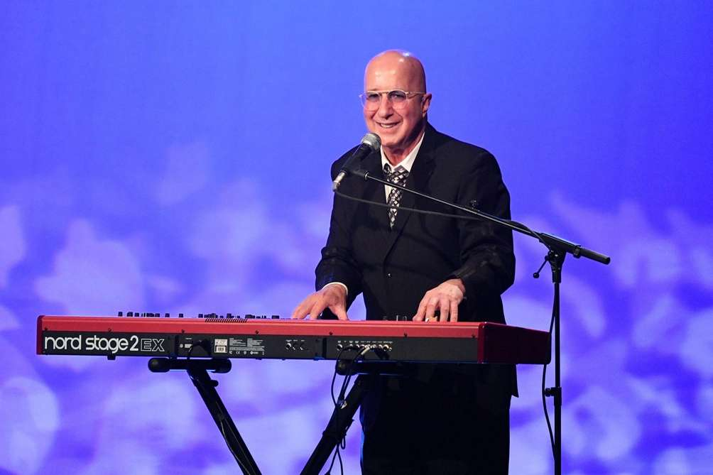 Paul Shaffer performs during WCBS Newsradio 880's