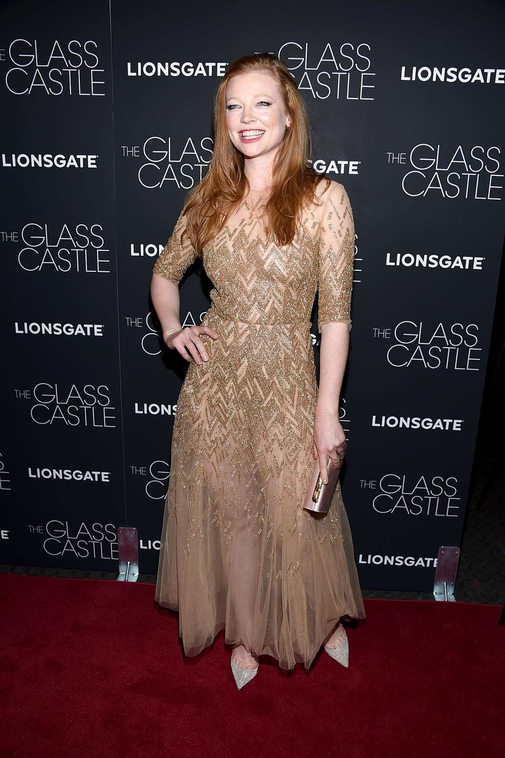 Sarah Snook at the New York City premiere