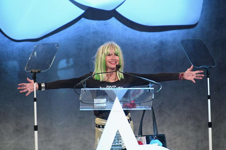 Betsey Johnson at the Accessories Council's 21st Annual