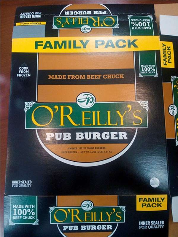 Kenosha Beef recalled nearly 4,000 pounds of burgers
