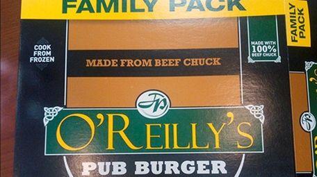 Kenosha Beef recalled nearly 4,000 pounds of burgers