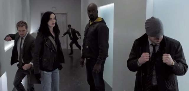 Four Marvel superheroes team up to save NYC