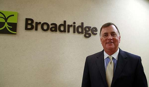 Broadridge Financial Solutions Inc. CEO Richard Daly at