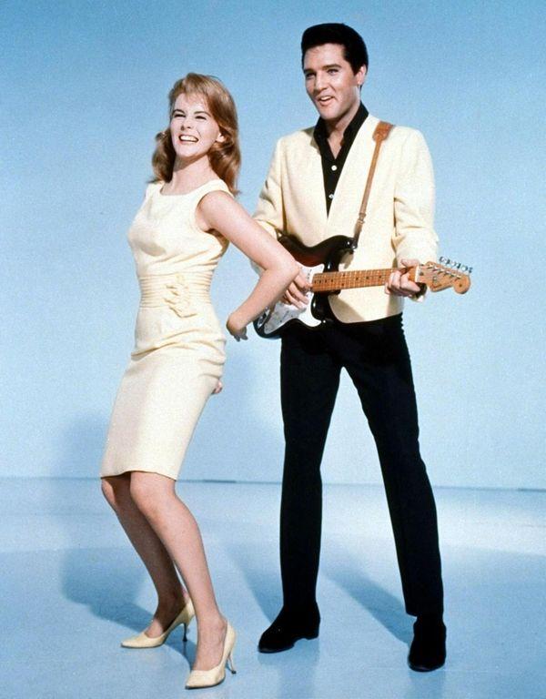 In 1964, Elvis Presley starred with Ann-Margret in