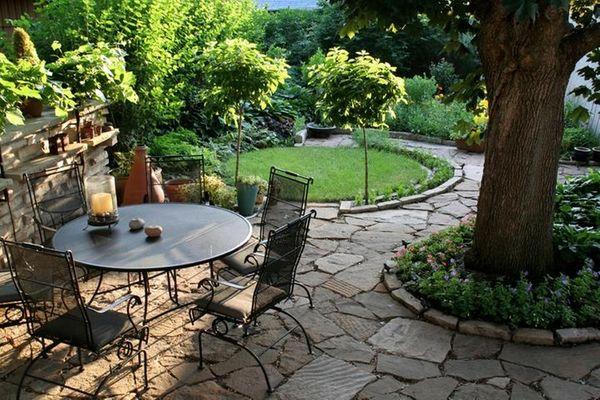 A patio.