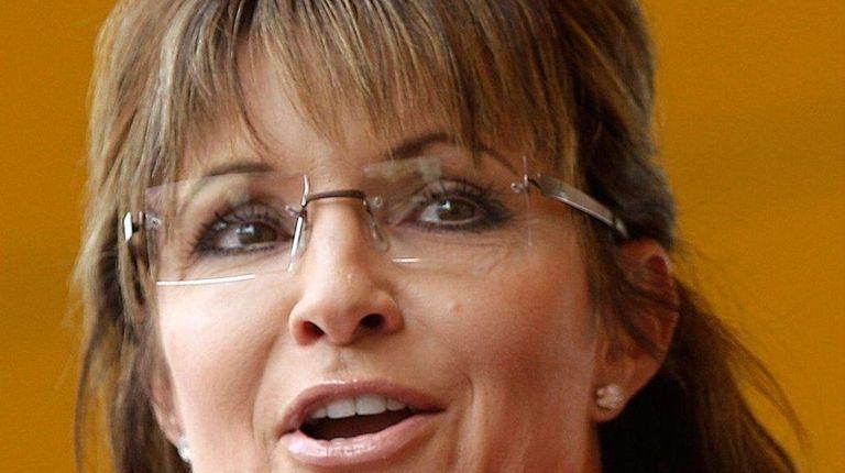 Sarah Palin, seen here on Sept. 5, 2011,
