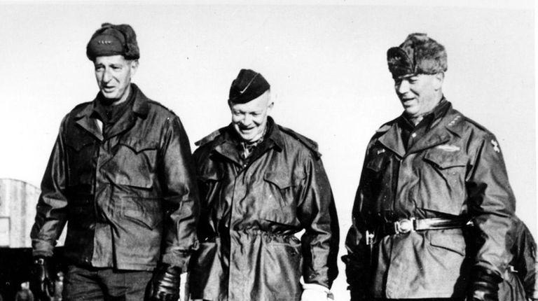 Gen. Mark W. Clark, left, President-elect Dwight D.