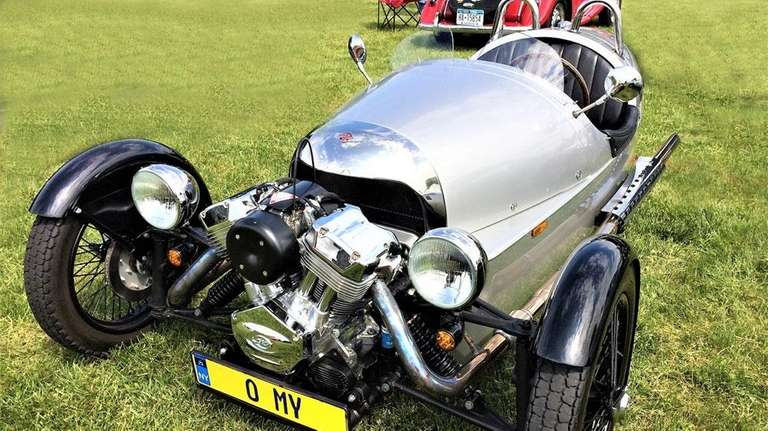 2012 Morgan 3 Wheeler owned by Jimmy Csollany.