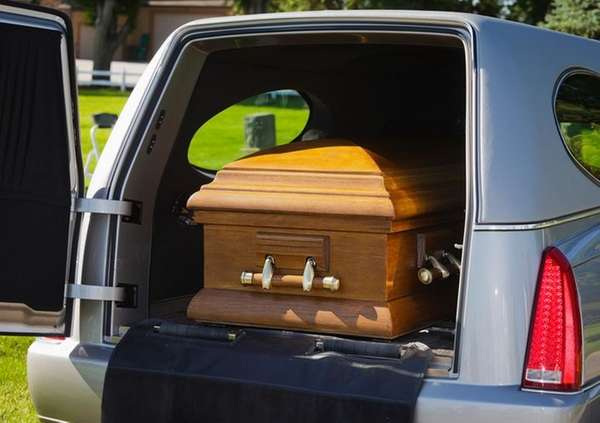A funeral.
