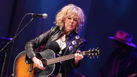 Lucinda Williams said she is working on new