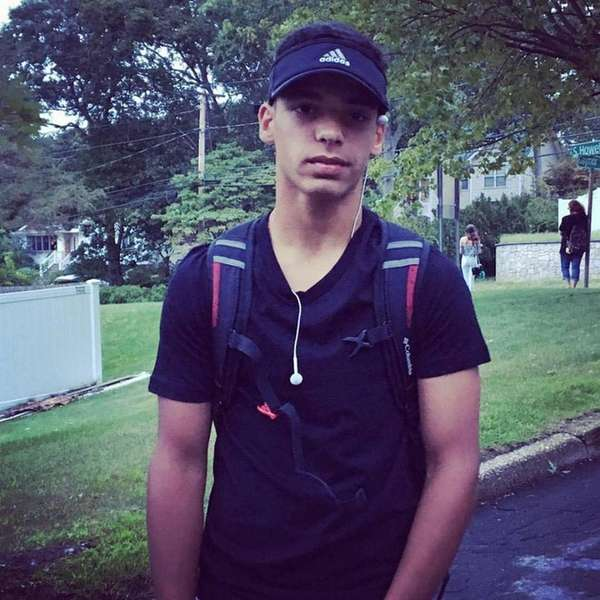 Joshua Mileto, an 11th-grade Sachem East student, was
