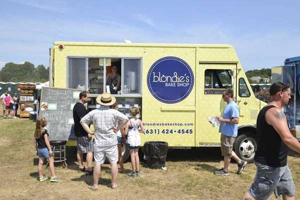 The Blondie's Bake Shop food truck is participating