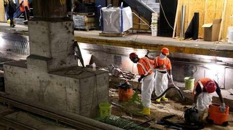 Amtrak officials say repairs to Penn Station remain
