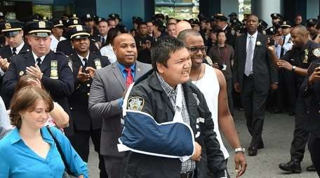 NYPD Officer Hart Nguyen of the 75th Precinct