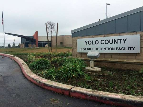 The Yolo County Juvenile Detention Facility in Woodland