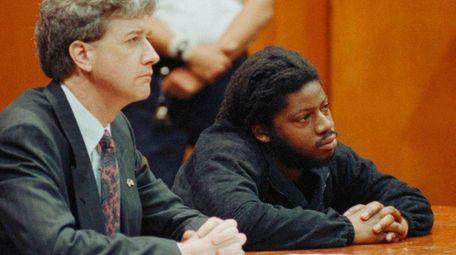 Philip Copeland, right, seen during , criminal court