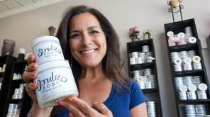 Roberta Perry, owner of Bethpage-based ScrubzBody Skin Care
