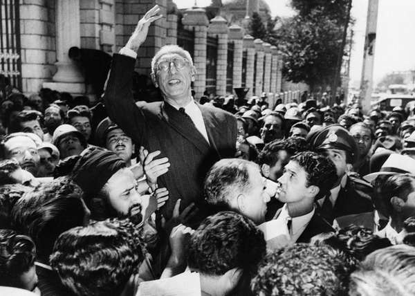 Iranian Prime Minister Mohammed Mosaddegh was ousted by