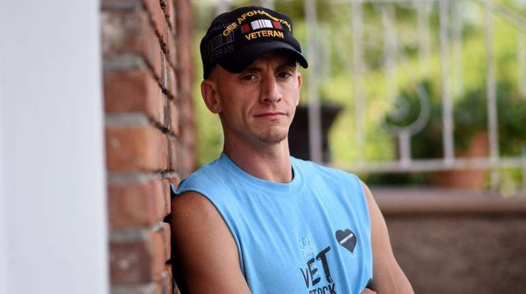 Patrick Donohue, 36, was a combat soldier for