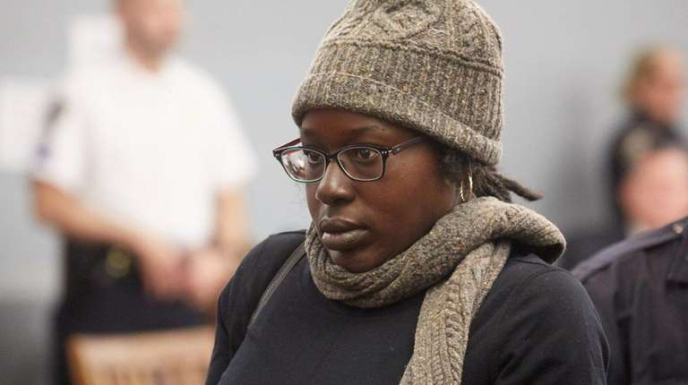 Veleda Bailey, seen at her arraignment in January