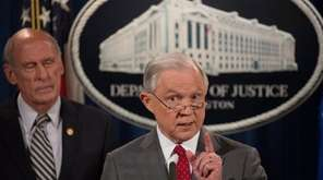 Attorney General Jeff Sessions and Director of National