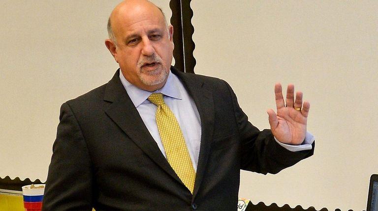 Long Beach schools Superintendent David Weiss in a