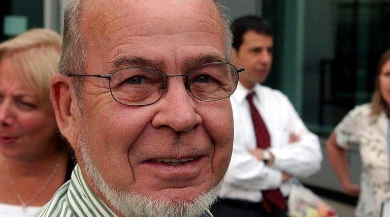 Former Newsday photographer and photo editor Donald Norkett