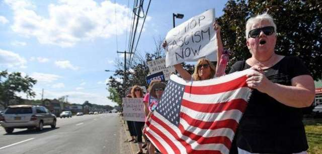 More than 100 Long Islanders gathered in the