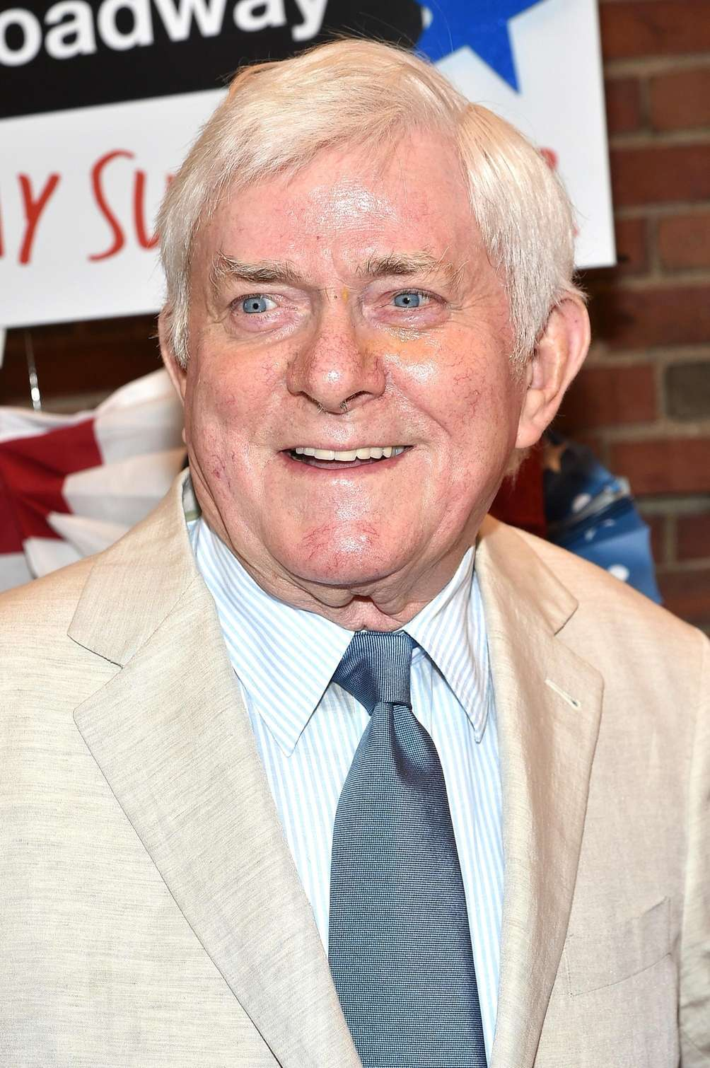 Phil Donahue attends the opening night performance of