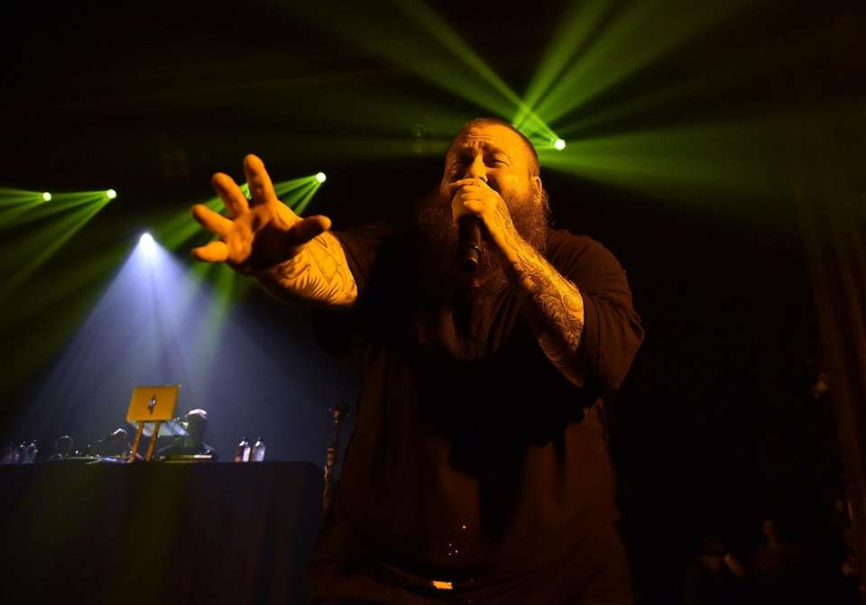 Action Bronson performs during