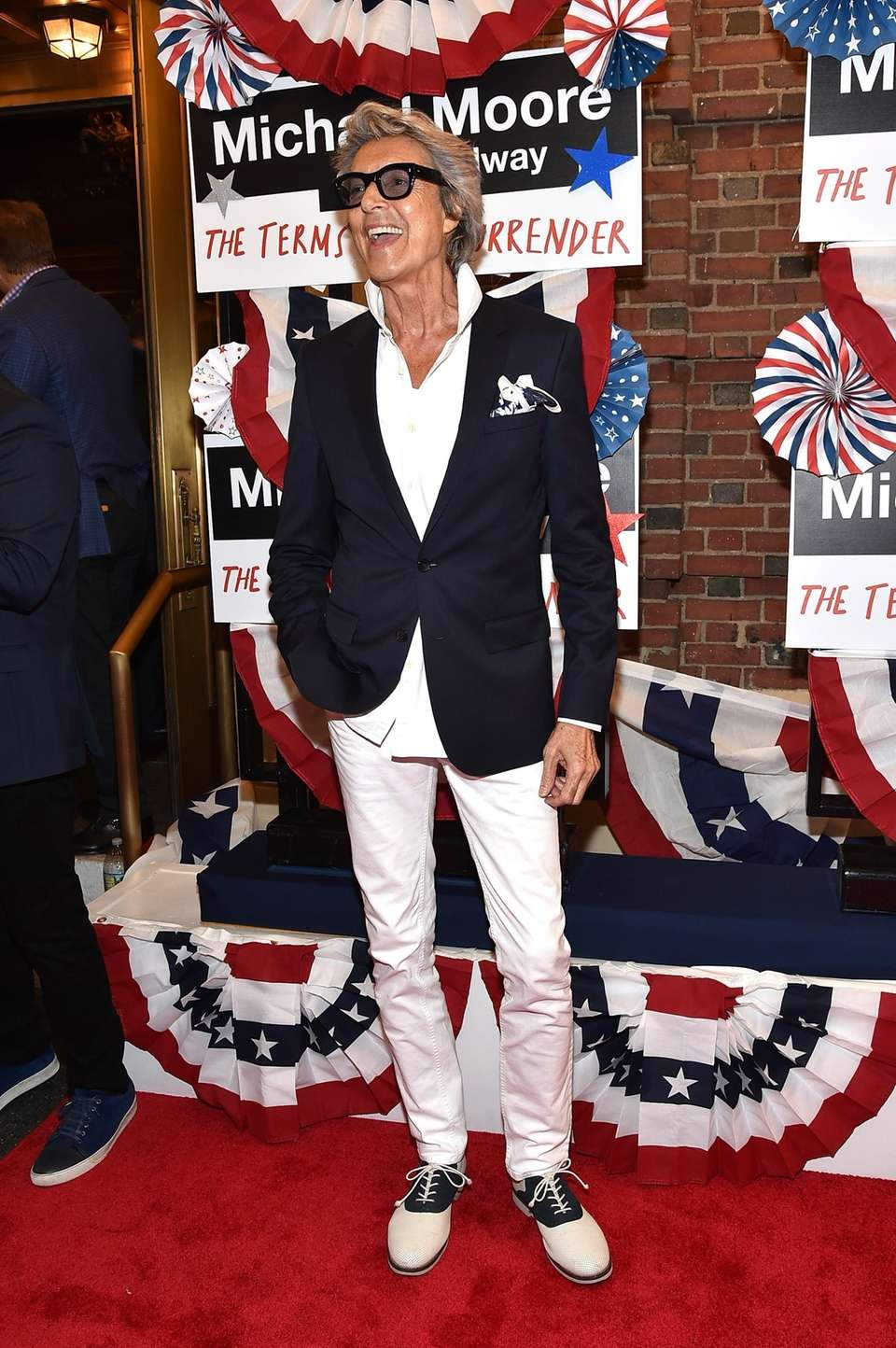 Tommy Tune at the opening night performance of