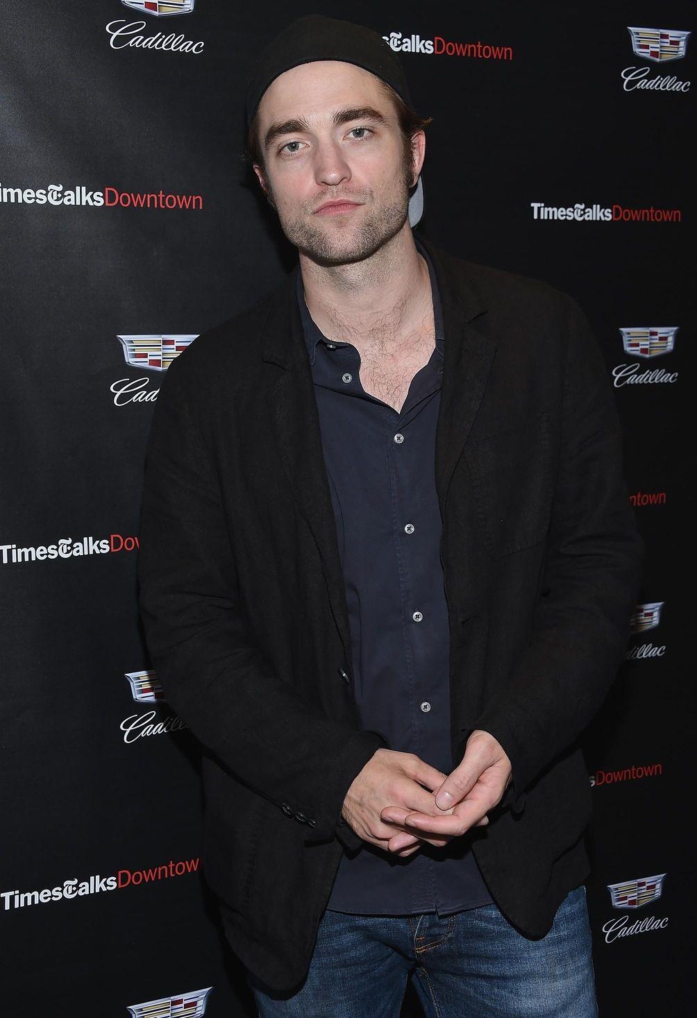 Robert Pattinson attends an event for the film