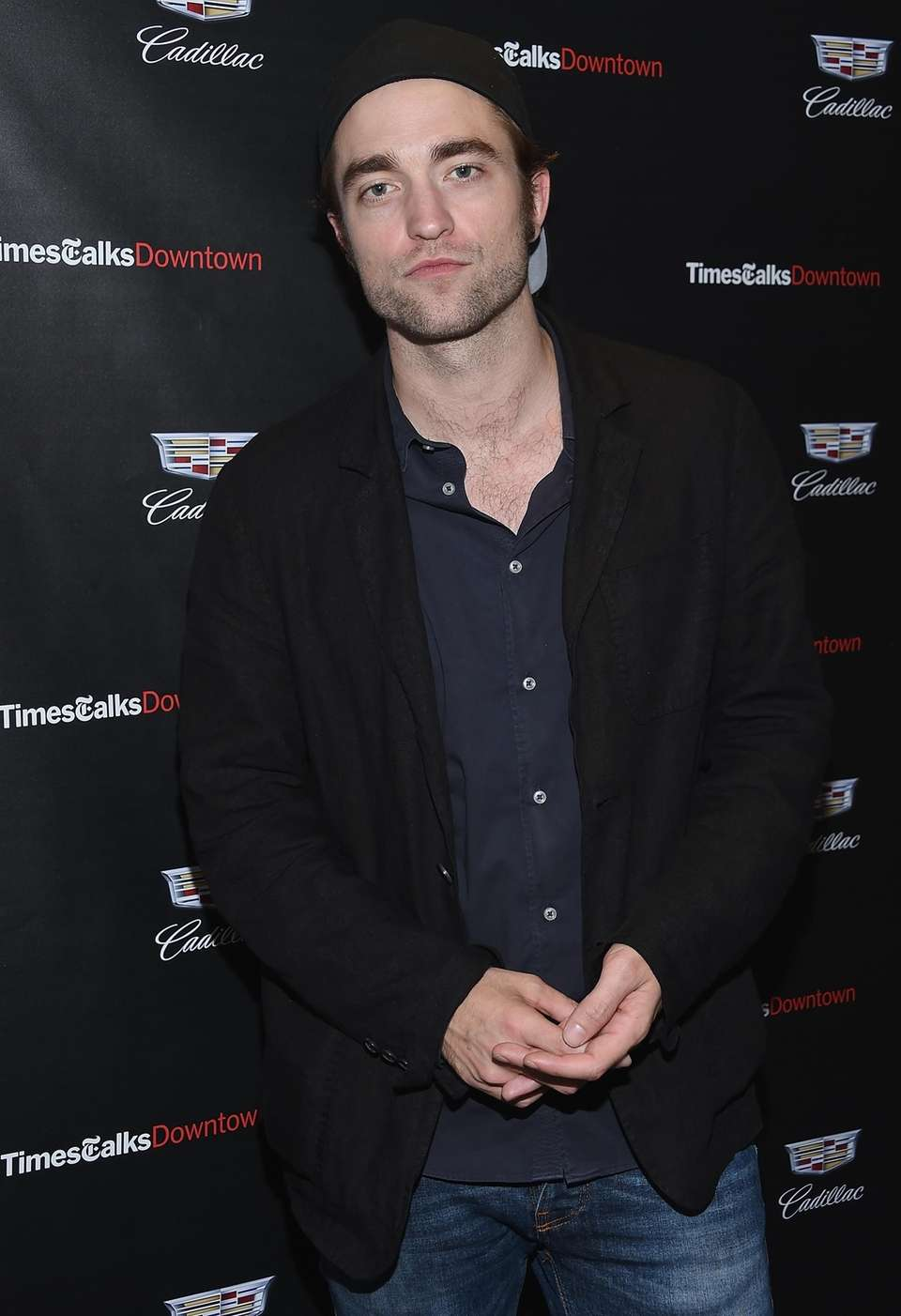 Robert Pattinson attends an event for the film