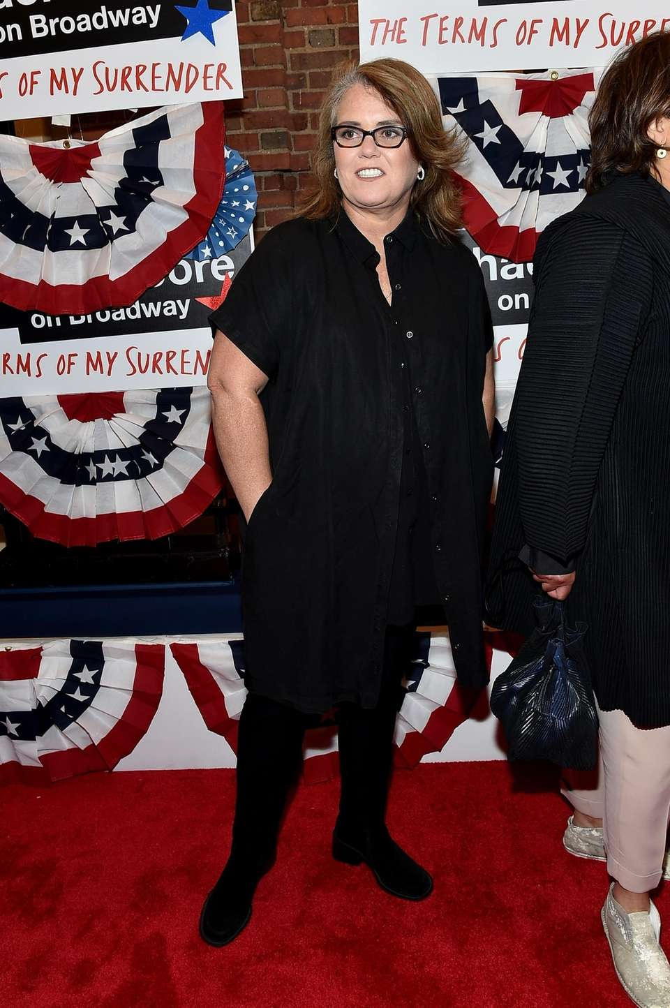 Rosie O'Donnell at the opening night performance of