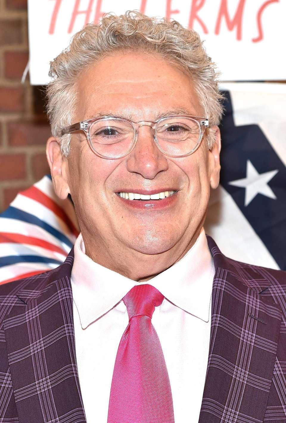 Harvey Fierstein at the opening night performance of