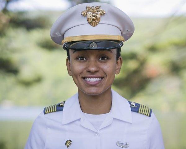 West Point Cadet Simone Askew is shown Aug.