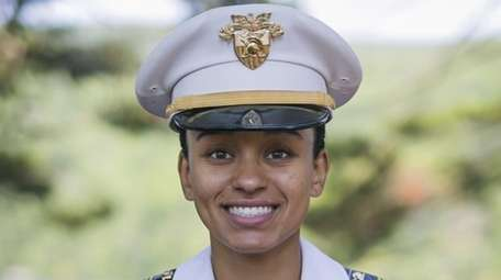 West Point Cadet Simone Askew is shown Aug.