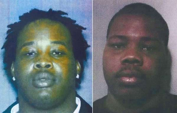 Johnny Green, left, and his brother Jermaine Green,