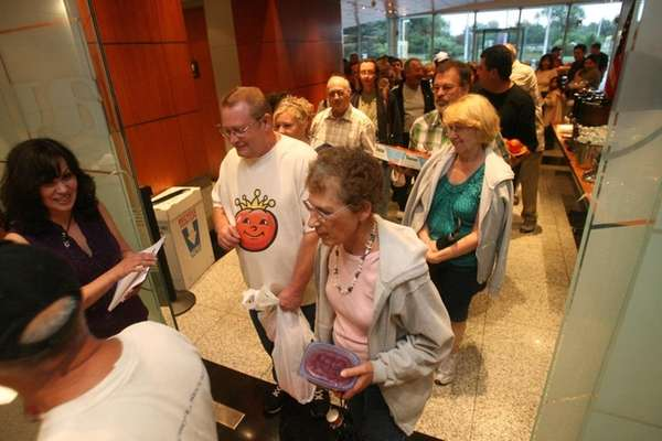Tomato hopefuls are greeted by Newsday Garden Detective