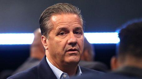 Kentucky head coach John Calipari of the Kentucky