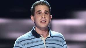 Ben Platt performs with the cast of