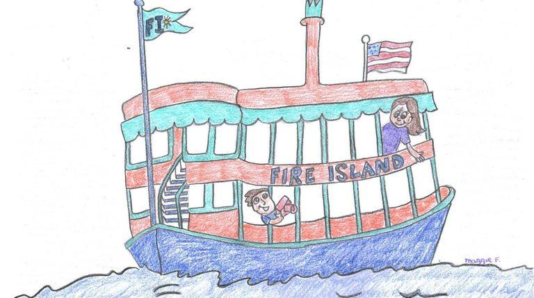 Take a ferry to Fire Island and enjoy