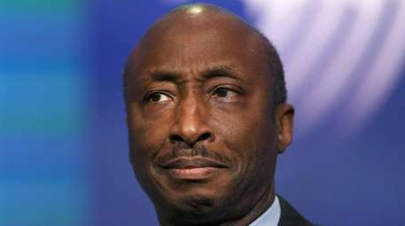 Merck Chief Executive Kenneth Frazier, seen here on