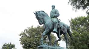 The statue of Confederate Gen. Robert E.