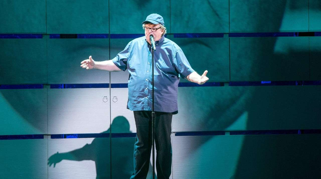 Michael Moore debuts his one-man Broadway show